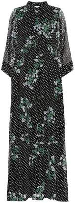 Ganni Rometty floral maxi dress