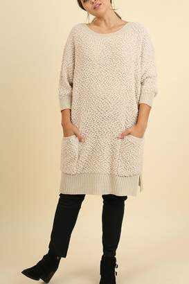 Umgee USA Cozy Bohemian Sweater