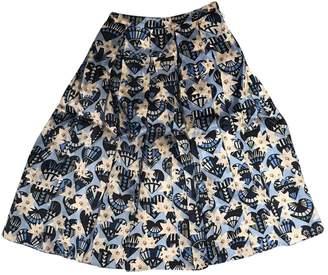 Holly Fulton Blue Skirt for Women