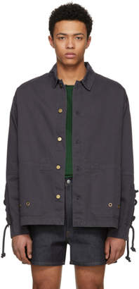 Acne Studios Bla Konst Black Segal Jacket
