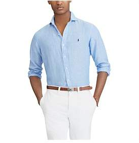 Polo Ralph Lauren Mens Classic Fit Linen Sport Shirt