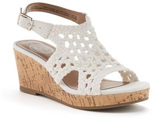 SO® Toyger Girls' Wedge Sandals $39.99 thestylecure.com