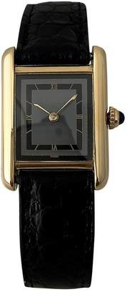 Cartier Tank ruby watch