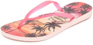 Havaianas Slim Paisage Flip Flops $34 thestylecure.com