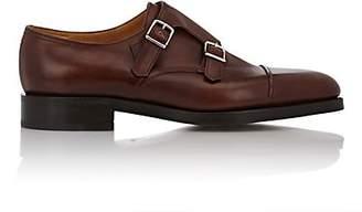 John Lobb Men's William Monk Shoes - Dk. brown