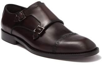 Allen Edmonds Caravaggio Leather Monk Strap Dress Shoe