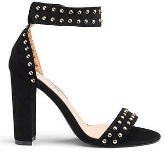 f034da9466af Raid Mahira Block heel Ankle Strap Sandals Wide Fit