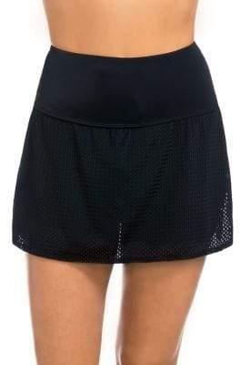 Active Spirit Mesh Technkini Swim Skirt