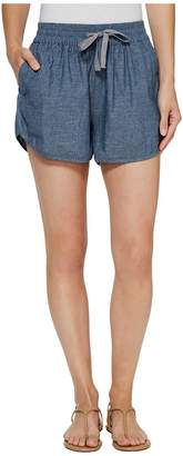 Alternative Chambray Beach Comber Shorts Women's Shorts