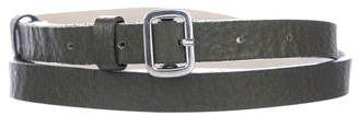Marc Jacobs Thin Leather Belt