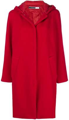Sportmax Code midi hooded coat