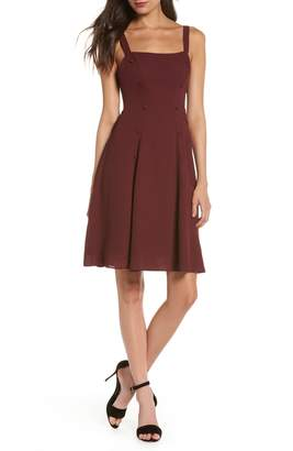 Fame & Partners Sienne Fit & Flare Dress