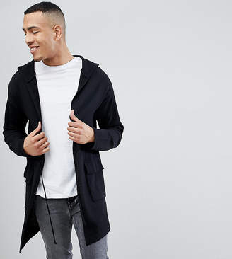 Asos Design TALL Knitted Parka with Patch Pockets