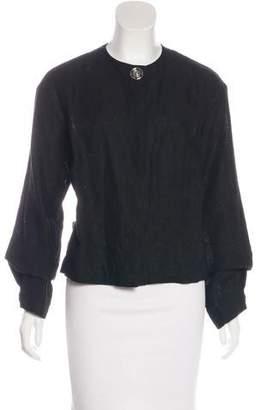 Loewe Linen Long Sleeve Jacket