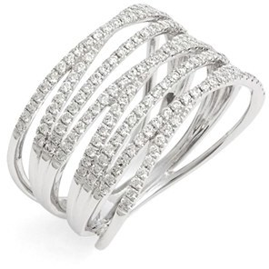 Women's Bony Levy 'Liora' Eight Row Diamond Ring (Nordstrom Exclusive) $3,295 thestylecure.com