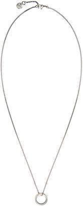 A.P.C. Silver Andre Necklace $120 thestylecure.com