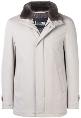 Herno fur collar coat