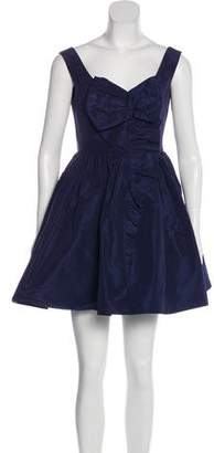 Miu Miu Satin Cocktail Dress