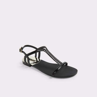 2aaa54ab2927 Black Patent Flat Aldo - ShopStyle