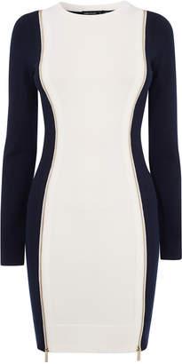 Karen Millen Contrast Bodycon Dress