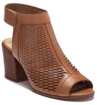 Vince Camuto Lavette Leather Block Heel Sandal