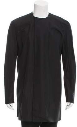 Haider Ackermann Collarless Button-Up Shirt w/ Tags