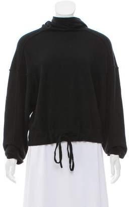 Helmut Lang Hooded Long Sleeve Sweater