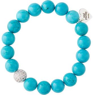 Soul Journey Turquoise Beaded Stretch Bracelet