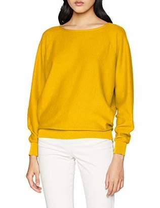 75655fb1214c9d Sisley Women's Sweater L/s Jumper, (Deep Lichen Green 34f), Small