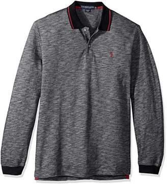 U.S. Polo Assn. Men's Classic Fit Solid Long Sleeve Pique Polo Shirt