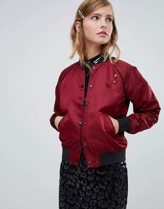 Fred Perry x Amy Winehouse Foundation Reversable Bomber Jacket