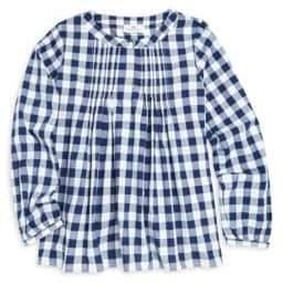 Vineyard Vines Little Girl's & Girl's Lookout Cotton Poplin Gingham Popover Shirt