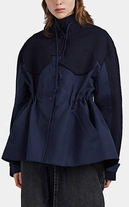 Woolmark Colovos X Prize Women's Water-Resistant Colorblocked Merino Wool Jacket - Blue