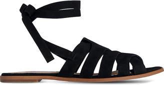 LK Bennett Selma suede sandals