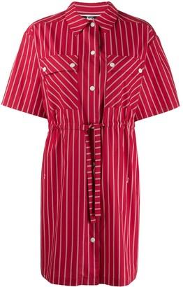 McQ drawstring waist dress