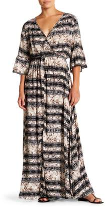 Tiare Hawaii Surry Surplice Maxi Dress