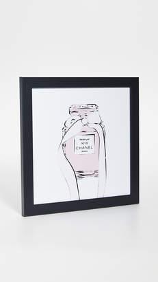 Chanel Shopbop @Home Perfume Print