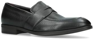 Ermenegildo Zegna Leather Avenue Flexible Loafers
