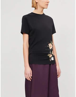 79dbe2481ec at Selfridges · Loewe Mackintosh cotton-jersey T-shirt