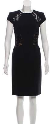 Emilio Pucci Sleeveless Lace-Accented Dress