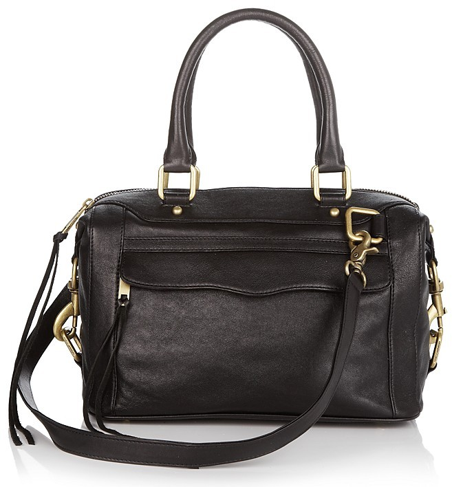 Rebecca Minkoff Morning After Mini Leather Bag with Strap