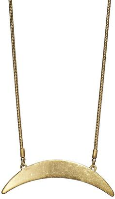 Jenny Bird Crescent Moon Necklace $60 thestylecure.com