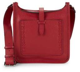 Rebecca Minkoff Boxed Pebbled-Leather Crossbody Bag