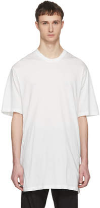 Julius White Lace-Up T-Shirt