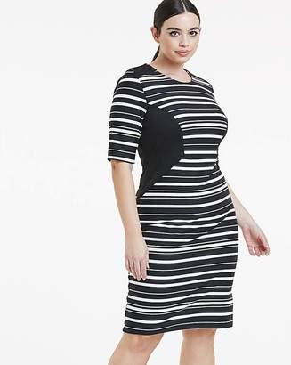 cb984ae5cfa15 Plus Size Black And White Dresses - ShopStyle UK