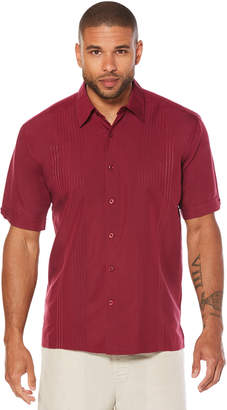 Cubavera Short Sleeve Ombre Embroidered Shirt