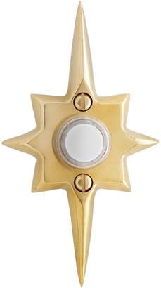 Rejuvenation Mid-Century Star Doorbell Button