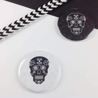 DAY Birger et Mikkelsen Jagsbery Halloween Of The Dead Skull Badge