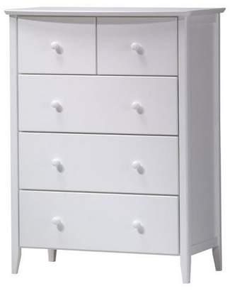 ACME Furniture San Marino Kids 5-Drawer Dresser - White - Acme