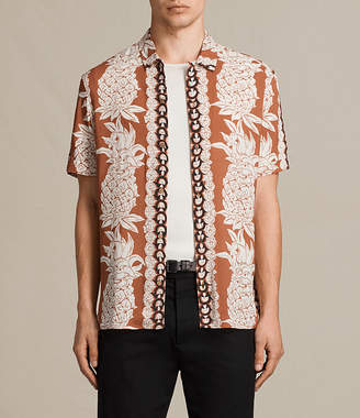 AllSaints Ananas Short Sleeve Shirt